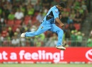 Ish Sodhi is charged up after taking one of his six wickets, Sydney Thunder v Adelaide Strikers, Big Bash League 2016-17, Sydney, January 18, 2017