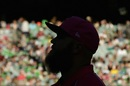 Doug Bollinger is silhouetted against the MCG crowd, Melbourne Stars v Sydney Sixers, BBL 2016-17, Melbourne, January 21, 2017