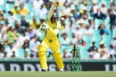 Usman Khawaja plays the ball in front of square, Australia v Pakistan, 4th ODI, Sydney, January 22, 2017