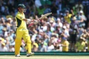 David Warner reached his fifty in 35 deliveries, Australia v Pakistan, 4th ODI, Sydney, January 22, 2017