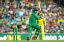 Sharjeel Khan tucks one to fine leg, Australia v Pakistan, 4th ODI, Sydney, January 22, 2017