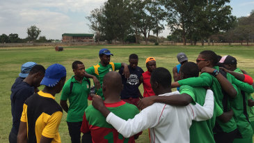 Players at Takashinga Cricket Club in Harare