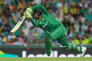 Shoaib Malik drives down the ground, Australia v Pakistan, 4th ODI, Sydney, January 22, 2017