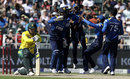 Sri Lanka celebrate David Miller's wicket, South Africa v Sri Lanka, 2nd T20I, Johannesburg, January 22, 2017
