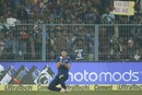 Jake Ball drops a sitter at fine leg, India v England, 3rd ODI, Kolkata, January 22, 2017