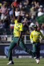 Lungi Ngidi made the early breakthroughs, South Africa v Sri Lanka, 2nd T20I, Johannesburg, January 22, 2017