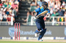 Angelo Mathews held Sri Lanka's chase together, South Africa v Sri Lanka, 2nd T20I, Johannesburg, January 22, 2017