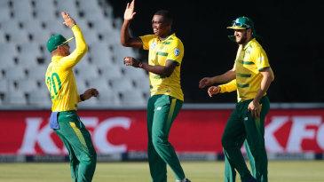 Lungi Ngidi claimed a four-wicket haul