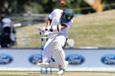 Mahmudullah ducks a bouncer, New Zealand v Bangladesh, 2nd Test, Christchurch, 4th day, January 23, 2017