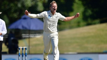 Neil Wagner removed two Bangladesh batsmen for a duck each