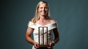Meg Lanning received the Women's Domestic Cricketer of the Year award