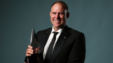Matthew Hayden was inducted into Australian Cricket's Hall of Fame