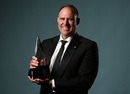 Matthew Hayden was inducted into Australian Cricket's Hall of Fame at the Allan Border Medal awards night, Sydney, January 23, 2017