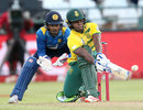 Mangaliso Mosehle boosted South Africa with 32 off 15 balls, South Africa v Sri Lanka, 3rd T20, Cape Town, January 25, 2017