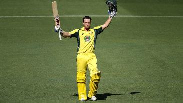 Travis Head made his maiden ODI hundred