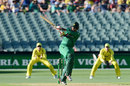 Sharjeel Khan pulls, Australia v Pakistan, 5th ODI, Adelaide, January 26, 2017