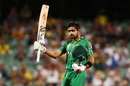 Babar Azam became the second Pakistan player to hit a century against Australia in Australia, Australia v Pakistan, 5th ODI, Adelaide, January 26, 2017