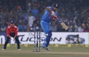 Suresh Raina navigates a short-pitched delivery, India v England, 1st T20I, Kanpur, January 26, 2017