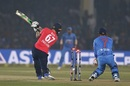 Jason Roy fell as soon as spin was introduced, India v England, 1st T20I, Kanpur, January 26, 2017