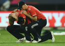 Joe Root tries to console a distraught Ben Stokes, England v West Indies, World T20 final, Kolkata, April 3, 2016