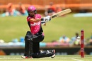 Marizanne Kapp struck some lusty blows towards the end of the innings, Perth Scorchers v Sydney Sixers, Women's BBL 2016-2017, Perth, January 28, 2017
