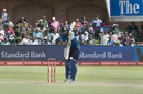 Dinesh Chandimal rises on his toes to defend, South Africa v Sri Lanka, 1st ODI, Port Elizabeth, January 28, 2017