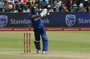 Dinesh Chandimal prepares to pull, South Africa v Sri Lanka, 1st ODI, Port Elizabeth, January 28, 2017
