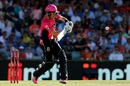Johan Botha struck some lusty blows, Perth Scorchers v Sydney Sixers, BBL 2016-17, Final, Perth, January 28, 2017