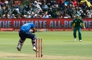 Dinesh Chandimal gets under a short ball, South Africa v Sri Lanka, 1st ODI, Port Elizabeth, January 28, 2017
