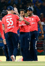 Adil Rashid accounted for Suresh Raina, India v England, 2nd T20, Nagpur, January 29, 2017