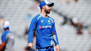 Matthew Wade was ruled out of the series opener with injury