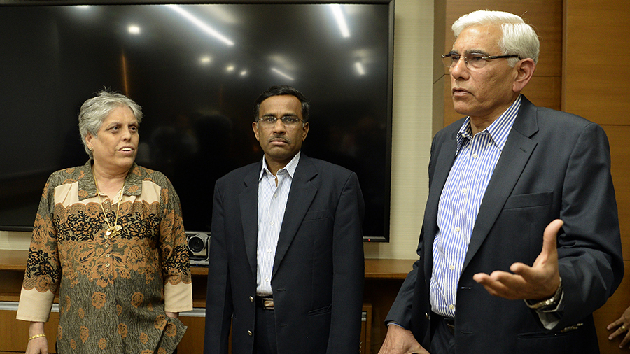 'BCCI a male chauvinist organisation' - Edulji