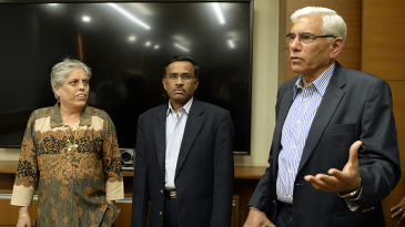 Diana Edulji, Vikram Limaye and Vinod Rai are part of the BCCI administrative panel appointed by the Supreme Court