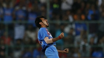Yuzvendra Chahal finished with figures of 6 for 25