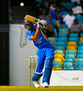 Roston Chase plays a drive during his 55-ball 76, Barbados v Combined Campuses and Colleges, WICB Regional Super 50 2016-17, Bridgetown, February 1, 2017