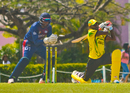 Jermaine Blackwood was stumped for 9 by Hamza Tariq, ICC Americas v Jamaica, WICB Regional Super 50 2016-17, Bridgetown, February 1, 2017