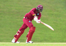 Matthew Patrick top-scored with 45 in a low-scoring thriller, West Indies U-19 v Kent, WICB Regional Super50, Group A, North Sound, February 2, 2017