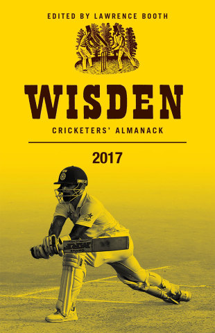 Cover of Wisden 2017