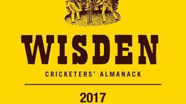 Cover of Wisden 2017