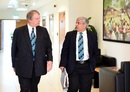 Giles Clarke and Shashank Manohar were in attendance at the ICC Board meeting, Dubai, February 4, 2017
