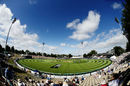 Seddon Park is bathed in bright sunshine for the series decider, New Zealand v Australia, 3rd ODI, Hamilton, February 5, 2017