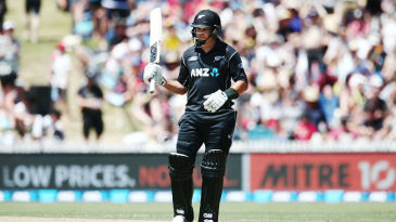 Ross Taylor equalled Nathan Astle's record of 16 ODI centuries, the most for New Zealand