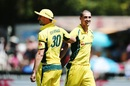 Mitchell Starc had a new haircut, New Zealand v Australia, 3rd ODI, Hamilton, February 5, 2017