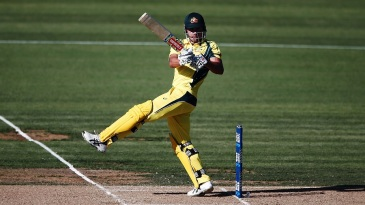 Marcus Stoinis threatened for a while, as he made 42 off 48