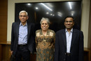 From left: Vinod Rai, Diana Edulji and Vikram Limaye, the BCCI administrative panel appointed by the Supreme Court, Mumbai, January 31, 2017