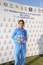 Devika Vaidya was Player of the Match in her second ODI, India v Sri Lanka, Women's World Cup Qualifier 2017, Colombo, February 7, 2017