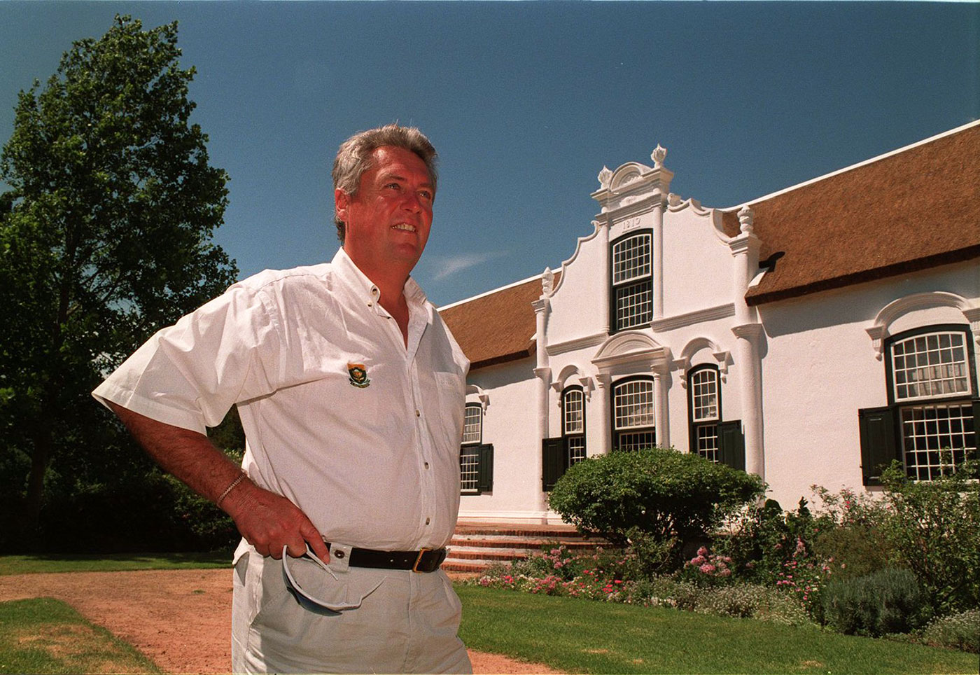 Bob Woolmer in Cape Town