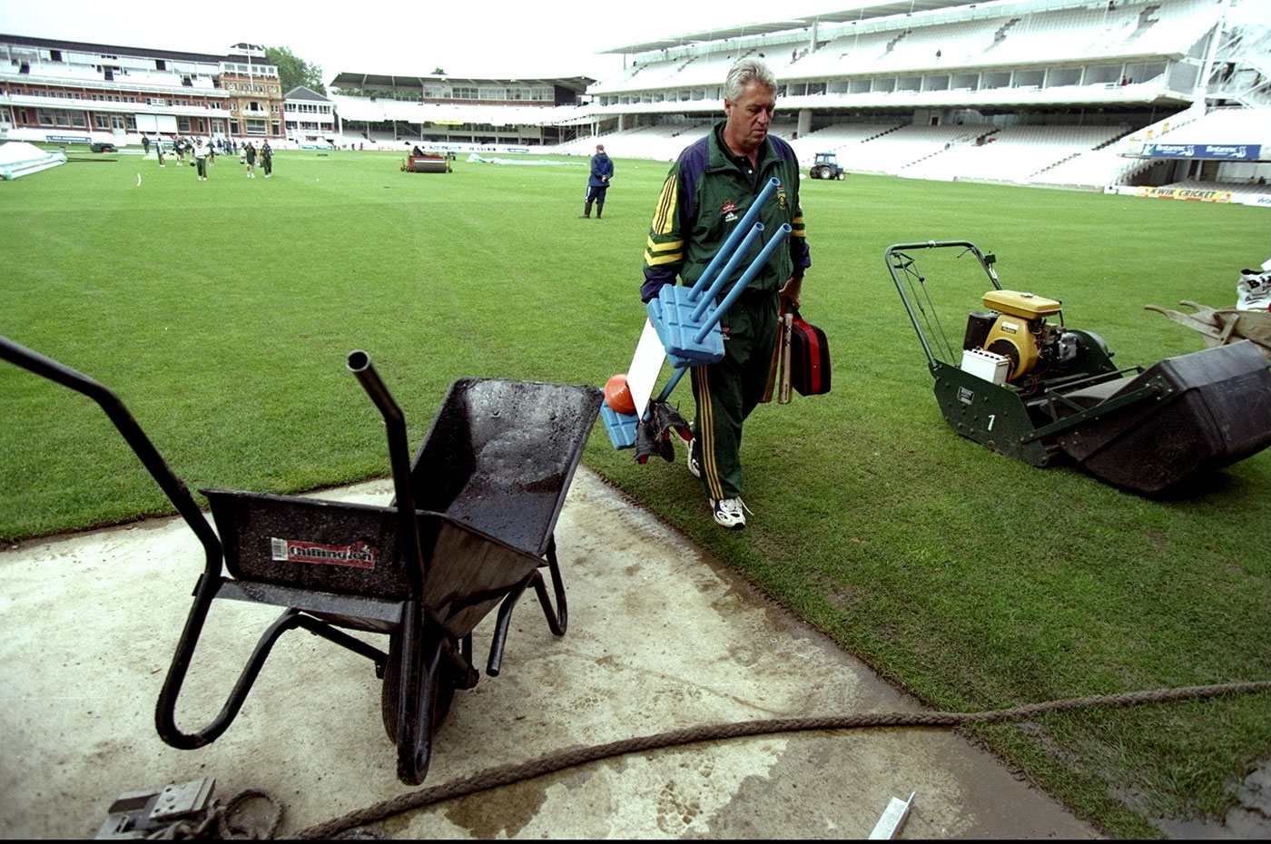 2020 vision: Woolmer conceived of a future where Associates would play Test cricket long before anyone else in the cricket world even thought they were fit to receive ODI status