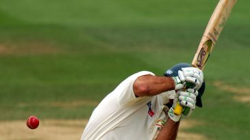 Ricky Ponting takes evasive action