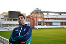 Alastair Cook at Lord's after confirming his resignation as England captain, February 7, 2017